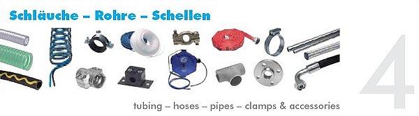 Pneumatikatlas: Schläuche - Rohre - Schellen