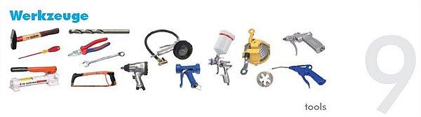 Pneumatikatlas: Werkzeuge